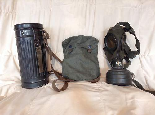 German m30 gasmask. For review.