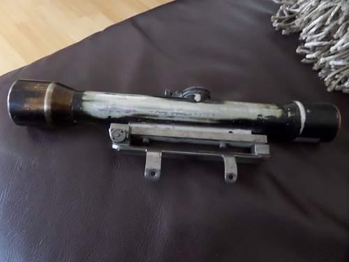 Carl Zeiss Zielvier Sniper scope