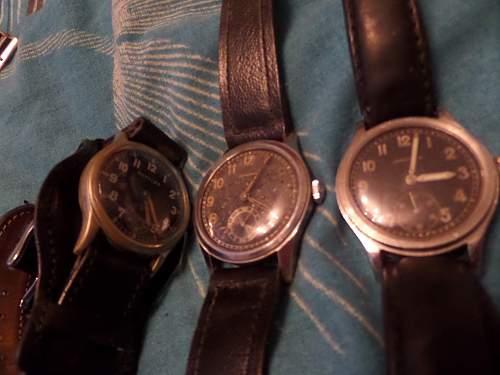 Heer issue wristwatch: Armbanduhr Tritona AS 1130