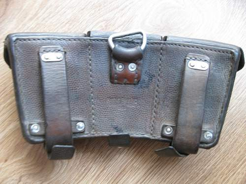 need fast opinion ammo pouch k98