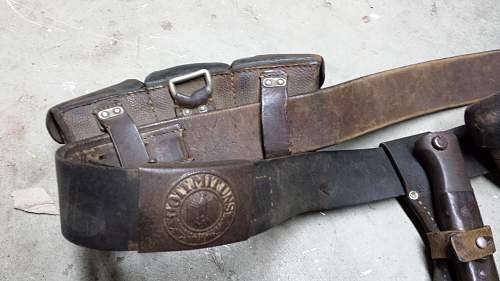 WW2 German Y Straps Original or No