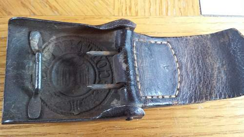 Heer Belt Set  w Bayonet & Pouches...value...authenticity