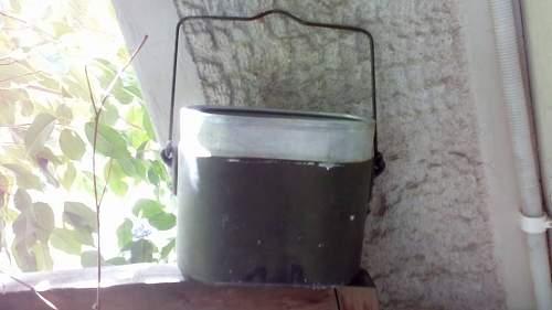 German Mess tin