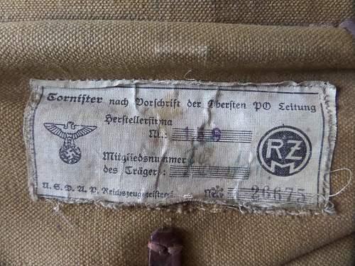 Nice flea market pick up NSDAP pack