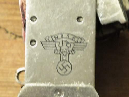 NSKK Ink Stamp for numbering