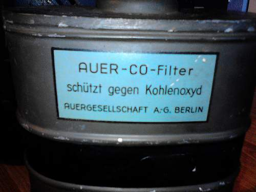 "Some kind of ""Luftschutz"" filter?"