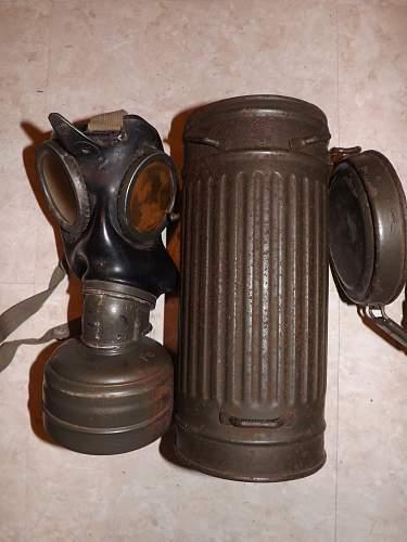 Waffen SS Gas mask