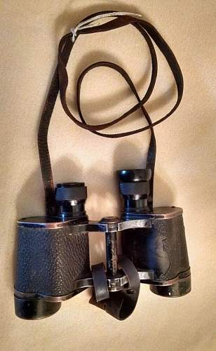 German ww2 Binoculars I bought for 35 bucks, has weird marking??