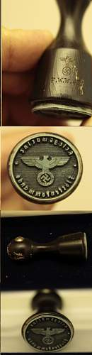 Some kind of Nazi Stamp