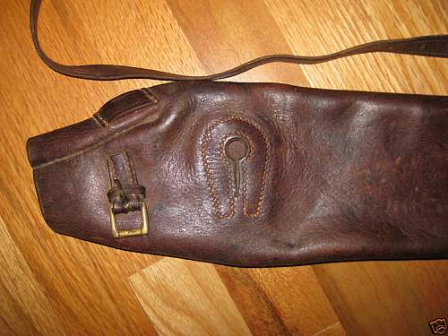 Click image for larger version.  Name:WW1 GERMAN LEATHER BREECH COVER 2.jpg Views:334 Size:82.5 KB ID:84500