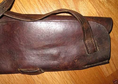 Ww1 german rifle leather breech cover?