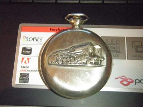 Glashutte Railway Pocket watch
