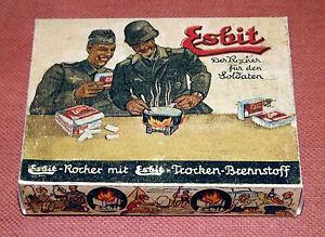 Wartime esbit fuel ?