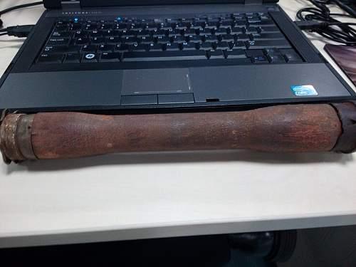 My first M24 grenade