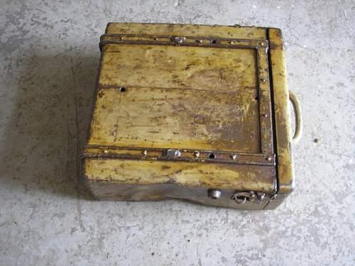 sPzAbt 507 Division motorbike camo box?