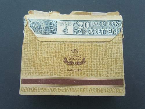 Waldor Astoria Hamburg - Cigarette Pack