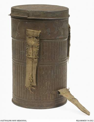 Gas Mask Canister MAS 1927