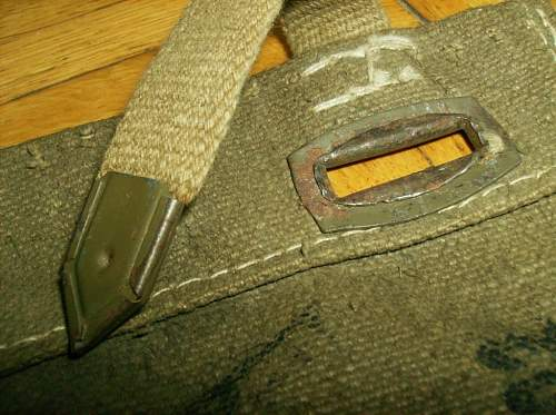Identification German rifle cover with RB number