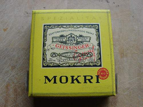 German cigarette rolling papers