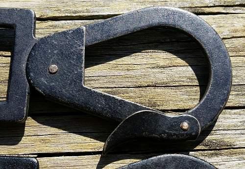 Are these legit helmet carrier belt hooks?