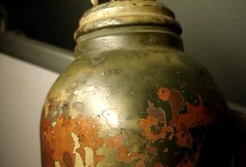WWII German fire extinguisher (?)