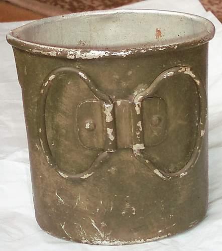 German canteen cups