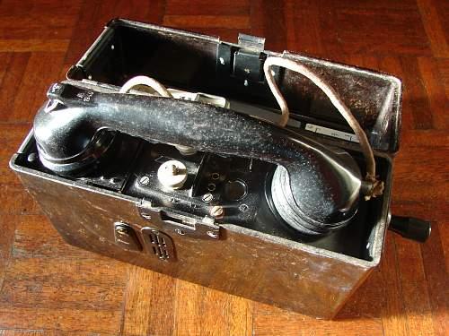 german ww2 telephone