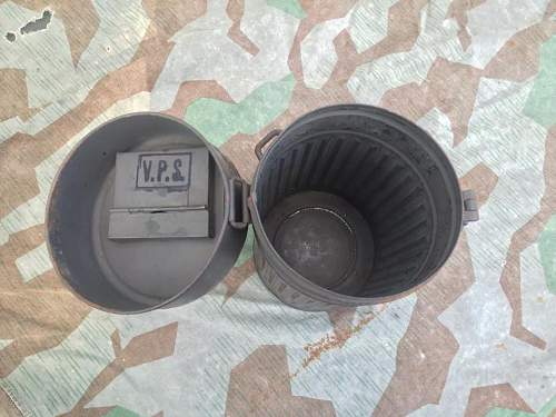 Gas mask canister and filter questions