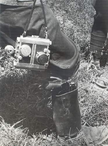 A real Leica, no fake engravings, just a piece of art from the period...