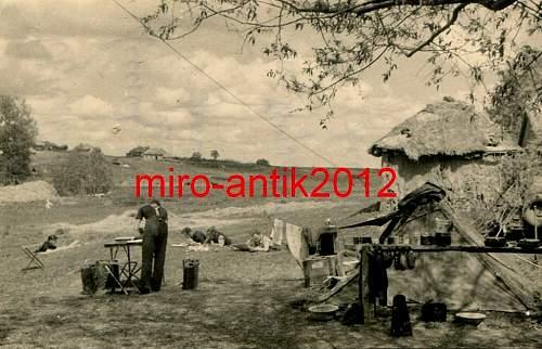 M31 Zeltbahn in use (period photos)