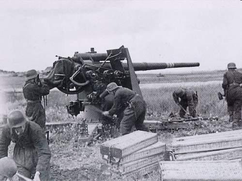 88mm Flak 18 wicker pannier.