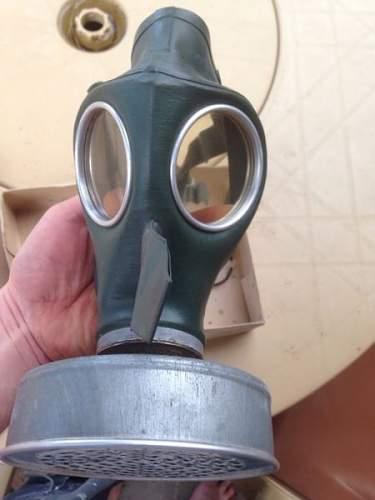 Deutsch Gasmaske 'Volksgasmaske'