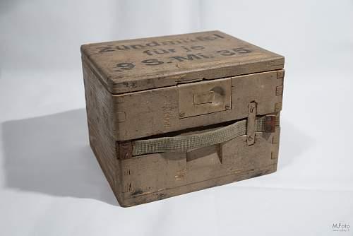 German wooden box