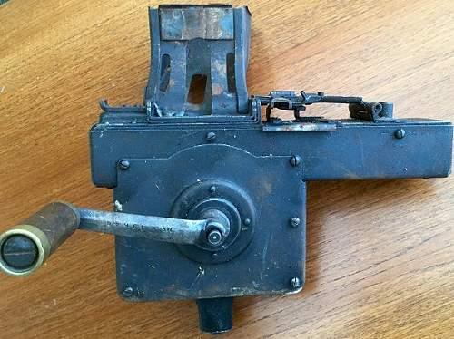 MG 34 belt loader