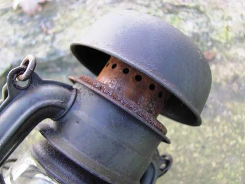 Panzerhandlampe Lamp & Feuerhand No 176 Lantern