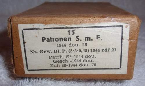 Cartridge Boxes