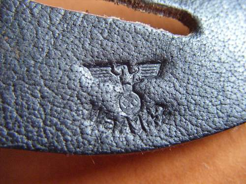 Opinions needed to this binocular buttoning flap