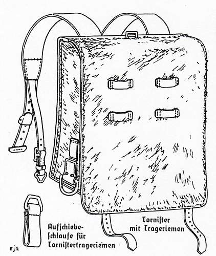 Click image for larger version.  Name:RAD-1 Bekleidungsvorschrift für den RAD, Jnuary 16, 1939 - Tafel 20  Beschreibung Tornister.jpg Views:75 Size:121.8 KB ID:898253