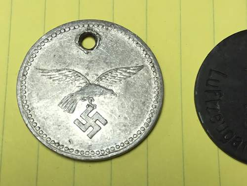 Luftwaffe tags/ Any idea what this are