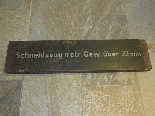 German taps and dies/