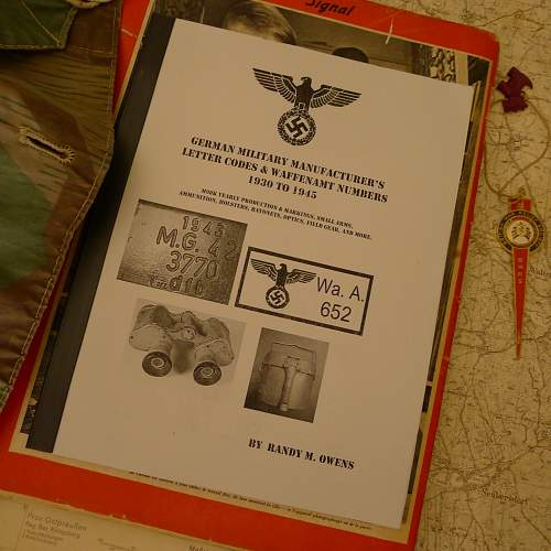 Looks like a great reference book on WaA stamps and more!
