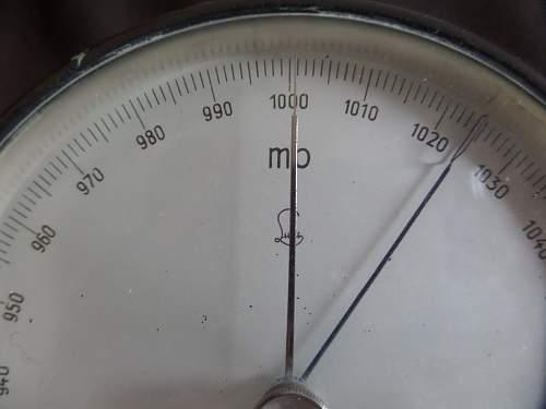 WWII German Kriegsmarine Barometer