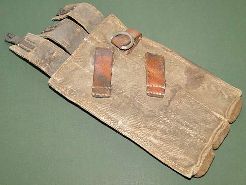 mp40 pouches real or post war? please help