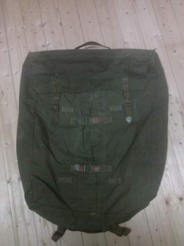 Large backpack possibly ww2 german?