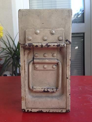 German Ammunition Box - paint job opinion needed