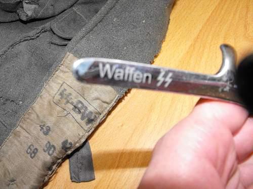 Original waffen SS haircutter