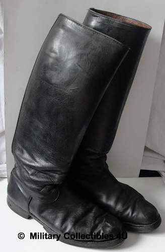 are these ww2 officer boots?