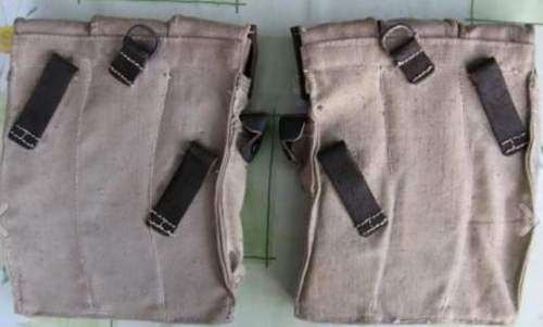 MP 40 pouches.