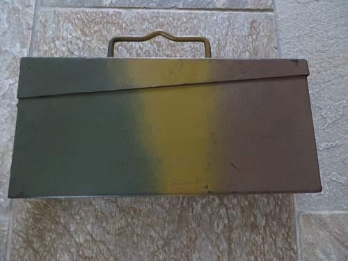 3 colour camo ammo tin