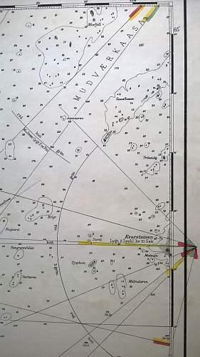 Kriegsmarine navigation charts
